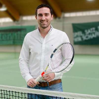 [Translate to Spanish:] eTennis CEO Andreas Munk